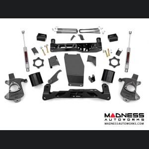 "Chevy Silverado 1500 4WD Suspension Lift Kit w/ N3 Shocks - 6"" Lift - Cast Steel"